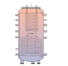 PRE Hygiene Kombispeicher 1000 Liter SONDERBAU für Solar BHKW Heizung Heizkessel