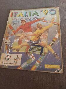 WORLD CUP ITALY 90 EX YUGOSLAVIA PANINI FULL COMPLETE  ALBUM VERY RARE