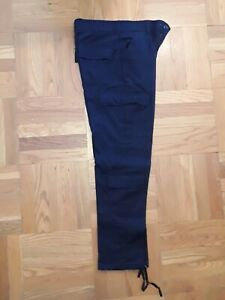 Uniform Security guard police Polyester Navy Pants military class b 3100 G 30x32