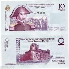 HAITI Billet 10 Gourde 2004 P272 COMMEMORATIVE NEUF UNC