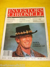 INVESTORS CHRONICLE - BRITISH STEEL - MAY 21 1993