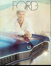 1969 Ford LTD Galaxie 500 Deluxe Sales Brochure Catalog - Country Squire Wagon