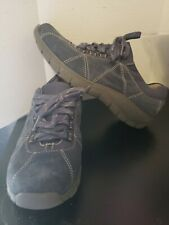 Clarks Collection  Women blue Suede Shoe Size 8M rare style