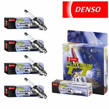 4 - Denso Platinum TT Spark Plugs for Pontiac G6 2.4L L4 2006-2010 Tune Up