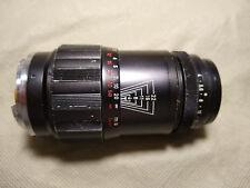 Leica Leitz Wetzlar M Tele-Elmar 135mm f/4 Lens w/Canon Viewfinder & Case