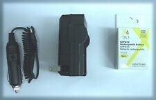 NP-FW50 Battery + Charger for Sony Alpha NEX-3A NEX-3C NEX-3C NEX-3CA NEX-3CD