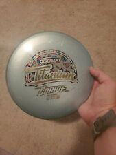 Used Discraft Titanium Comet Mid Range 177+g Disc Golf 8.5+/10 Wonderbread Stamp