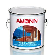 IMPREGNANTE LEGNO FINITURA ALL'ACQUA LIGNEX AQUAGEL AMONN 2,50LT-10 NOCE CHIARO