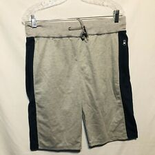 Marx & Dutch Mens Athletic Shorts Size M 32-34 Gray Black PM89