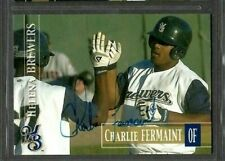 2005 Helena Brewers Team Set #71 Charlie Fermant Signed Autograph Baseball Card