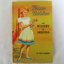 Trixie Belden and Mystery in Arizona Julie Campbell 1965 Vintage Book