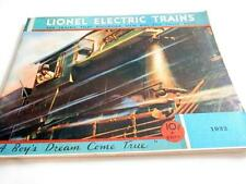 LIONEL PRE-WAR 1932 BLACK & WHITE CATALOG - REPRODUCTION NEW- W13