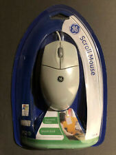 GE Smooth Scroll Ergonomic Design Mouse 97859 - New in Packaging - Quiet Wheel
