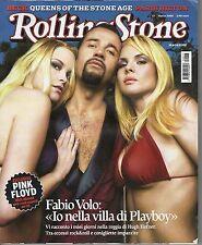 Rivista ROLLING STONE ANNO 2005  NUMERO 17 - FABIO VOLO -  PINK FLOYD - P.HILTON