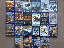 22 PlayStation 2 War Games Bundle!