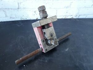 """Triple R G-2000 pipe roll groover 1-1/4"""" - 6"""" pipe grooving tool victaulic fit"""