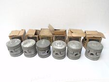35 36 37 38 39 40 41 42 Ford Pistons (6) NOS OEM .030 OVER 1937 1938 1939 1940