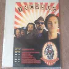 Huge Rare INCUBUS 2007 Original Tour Gig Promo Pop Music Poster Memorabilia