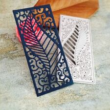 Leaf Frame Cutting Dies Stencil Scrapbook Embossing Album Paper Card DIY Craft
