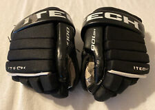 """ITECH HG100 Hockey Gloves Size 10"""" Black & White - Pre-Owned"""