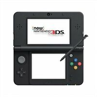 Used Exc New Nintendo 3DS Console System Black Japan Import