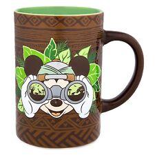 DISNEY Parks ANIMAL KINGDOM Mug MICKEY MOUSE SAFARI Coffee Cup 16 oz NEW