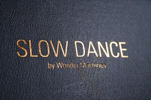 Wonder Machines Slow Dance Frame Kickstarter Original
