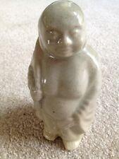 Pottery Ceramic Figurine Old Monk Japanese Statue