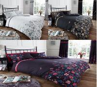 Maria Duvet Set Floral Duvet Cover Set 3 PCs Quilt Cover Set Bed Set Bedding Set