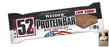 Weider 52 Protein bar 4 /100g 50g Riegel Proteinriegel Stracciatella