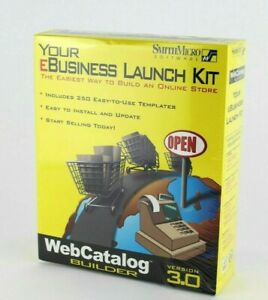 Your EBusiness Launch Kit Web Catalog Builder Version 3.0 Smith Micro Software