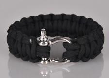 Outdoor Camping Lanyard Hand Woven Armband Handmade Unisex Bracelet