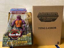 Masters of the Universe Classics Tung Lashor Action Figure MOTUC MOC He Man