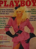 Playboy December 1984 Gala Christmas Issue | Suzanne Somers Karen Velez   #7720