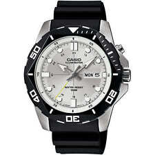 Casio MTD1080-7AWC  Diver LED Super Illuminator Men's Stainless Steel Watch