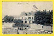 cpa Cachet THOIRY en 1907 FRANCE 78 - ANDELU (Yvelines) Le CLOS Animés