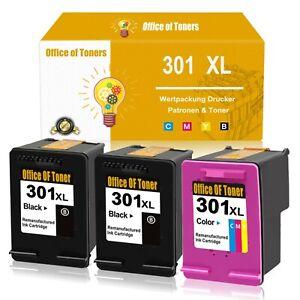 Druckerpatronen für HP 301 XL Deskjet 1050 2540 2050 A 3050 Envy 4500 4504 5530