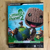 Little Big Planet 2 Video Game Strategy Guide Paperback Bradygames LBP2 PS3 Sony