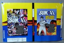 Vintage 2000 Sum 41 Half Hour of Power Advertising Punk Rock Book Cover