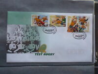 AUSTRALIA 1999 100yrs TEST RUGBY SET 4 STAMPS FDC FIRST DAY COVER