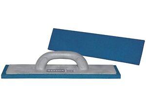 "REFINA BLUE Dense 16"" Medium/Fine Plastering Sponge Float Trowel Rubber, 261402"