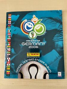 Panini World Cup Germany 2006 Sticker Album 100% Complete