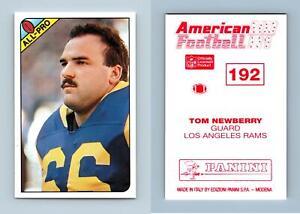 Tom Newberry - Rams #192 American Football 1990-91 Panini Sticker