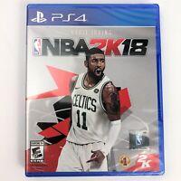 NBA 2K18 (Sony PlayStation 4, 2017) PS4 Basketball Factory Sealed Free Shipping