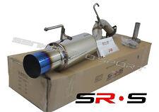 Lancer 2012 2013 2014 2015 DE/ES/SE/GT SR*S Blue Tip Axle Back exhaust muffler