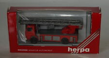 Herpa 863002 SCANIA Fire Turntable Truck LHD 1/87 Scale HO Gauge Plastic