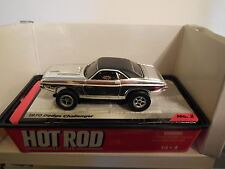 Auto World '70 Chrome Dodge Challenger New in Jewel Case Also Fits AW, AFX, JL