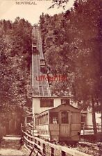 INCLINE RAILWAY MOUNT ROYAL PARK MONTREAL QUEBEC CANADA 1917