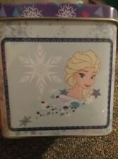 Frozen Elsa Metal Tin Box Sisters Girls Kids Free Tracking New Collectible