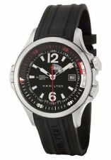 Hamilton Khaki Navy GMT Diver Men's 42 mm Automatic Watch H77555335  NEW